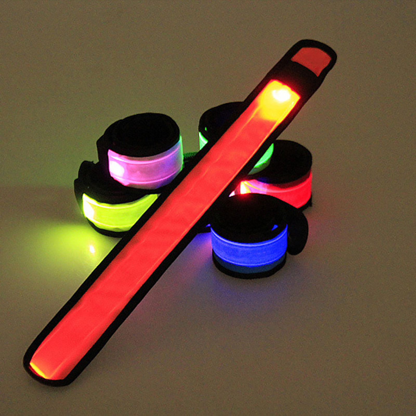 LED-Flashing-Light-Up-Glow-Bracelet-Wristband-Vocal-Concert-Party-Props-Gift-HOT thumbnail 2