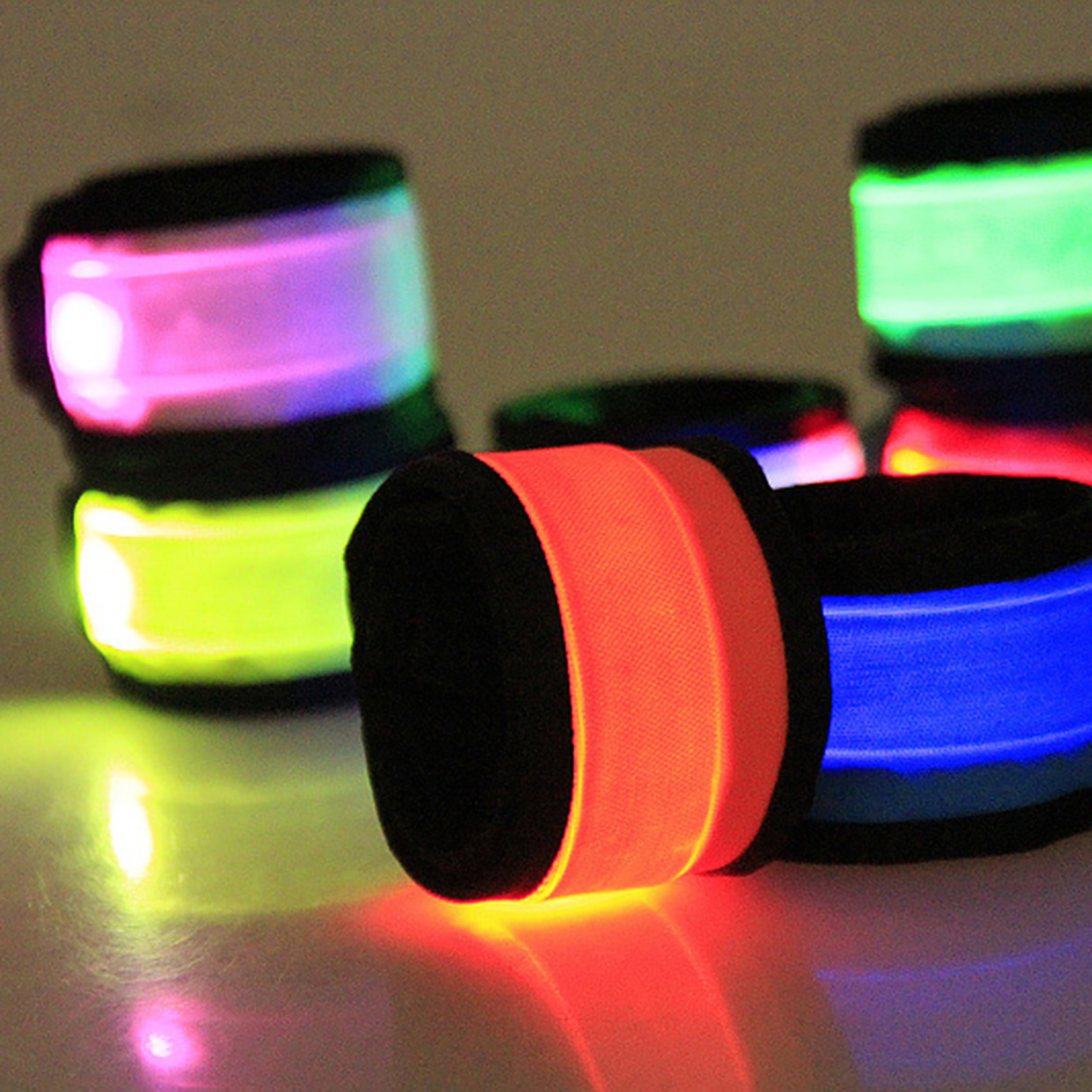 LED-Flashing-Light-Up-Glow-Bracelet-Wristband-Vocal-Concert-Party-Props-Gift-HOT thumbnail 9