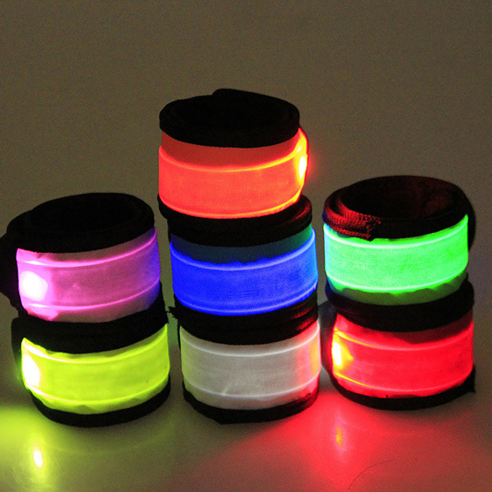 LED-Flashing-Light-Up-Glow-Bracelet-Wristband-Vocal-Concert-Party-Props-Gift-HOT thumbnail 3