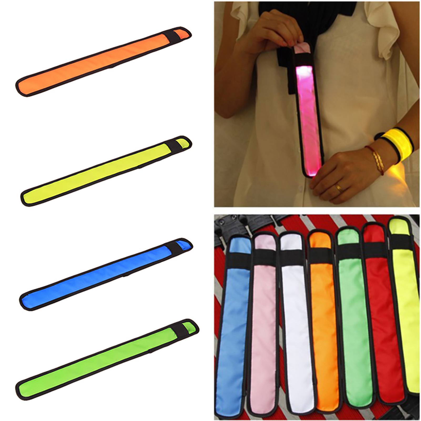 LED-Flashing-Light-Up-Glow-Bracelet-Wristband-Vocal-Concert-Party-Props-Gift-HOT thumbnail 6