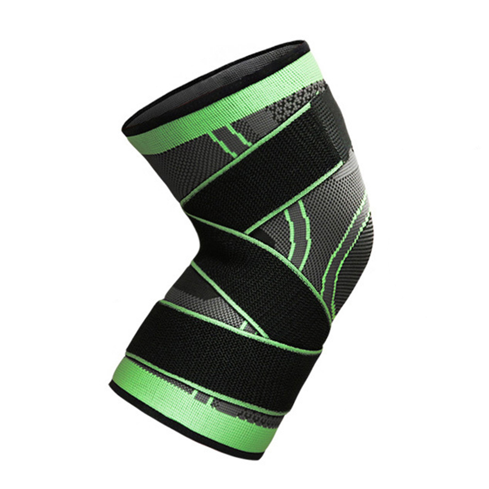 3D-Weaving-Knee-Brace-Pad-Protector-Compression-Breathable-Running-Support-HOT thumbnail 14
