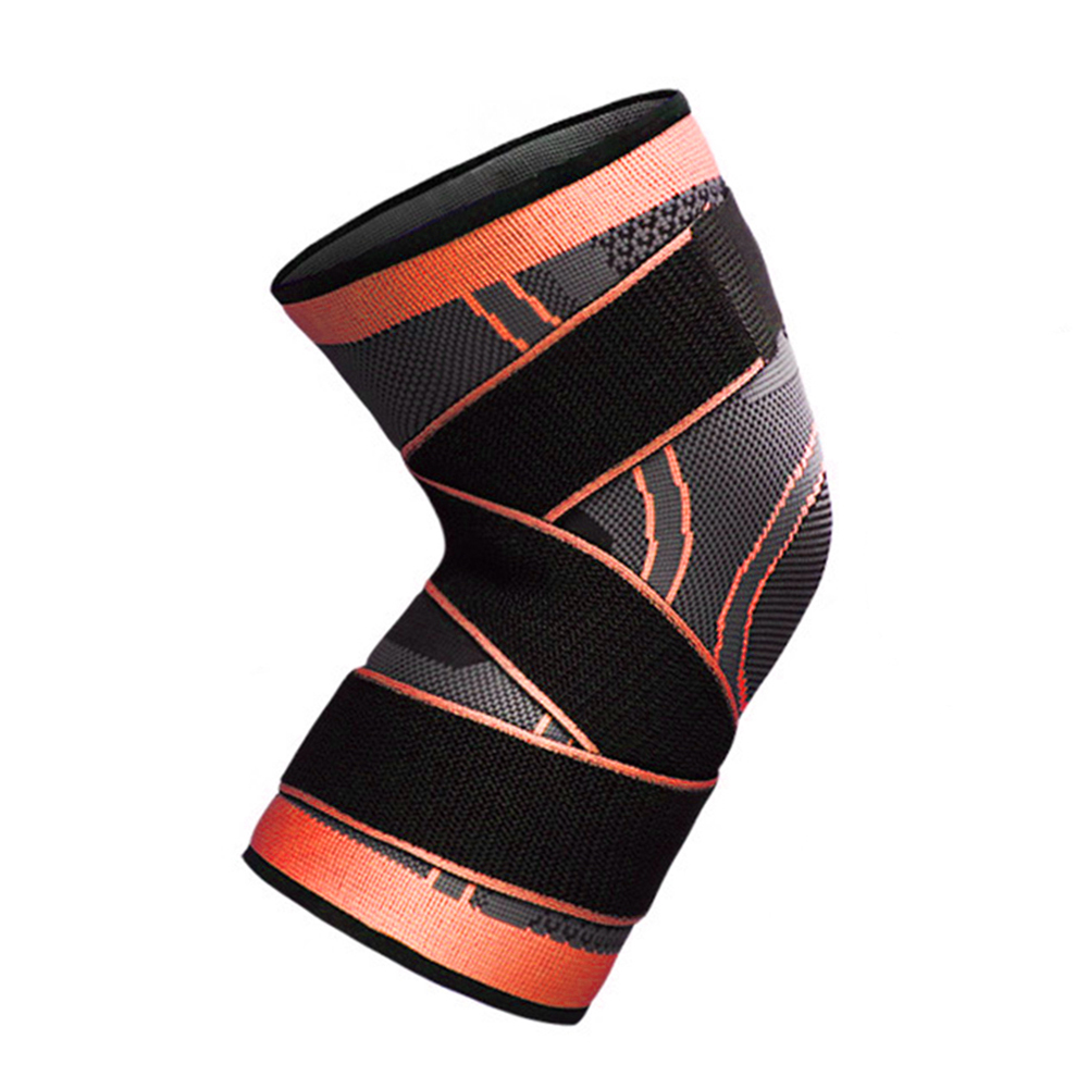3D-Weaving-Knee-Brace-Pad-Protector-Compression-Breathable-Running-Support-HOT thumbnail 15